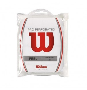 Pack 12 Overgrips Wilson Pro Perforados