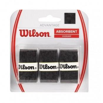 Blíster 3 Overgrips Wilson Advantage Negro