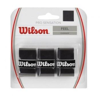 Blíster 3 Overgrips Wilson Pro Sensation Negro