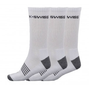 Pack de 3 Pares de Calcetines Kswiss All Court