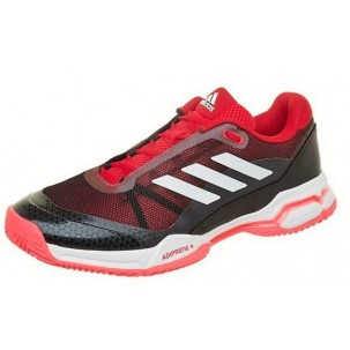 Zapatillas Adidas Barricade Club negra roja