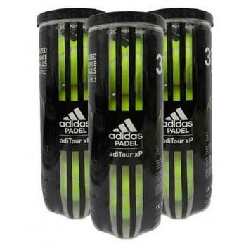 Pack de 3 botes de bolas Adidas AdiTour XP