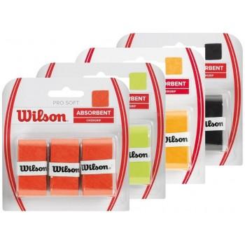 Blíster 3 Overgrips Wilson Pro Soft